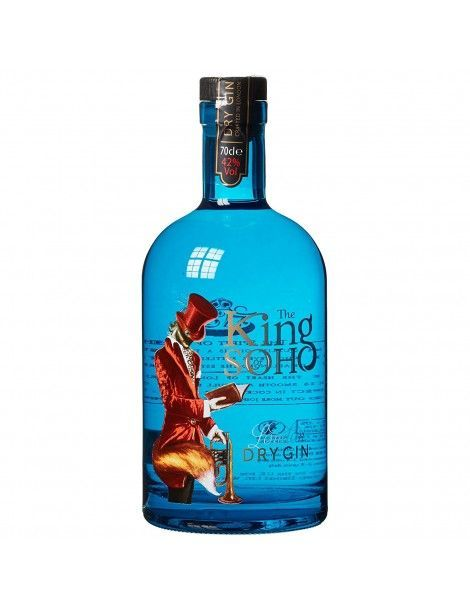 """Dry Gin """"The King Of Soho"""" 70cl"""