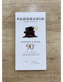 "Chocolate negro intenso 90% ""Pancracio"" 100gr"