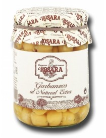 "Garbanzos al natural extra ""Rosara"" 240gr"